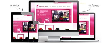 Website Atelier voor de Sier