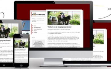Website Oogstgroep Almelo