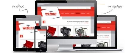 Website Wemint Agro en Techniek