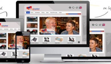 Website van Zorgcomfort