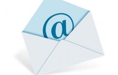 E-mail instellen
