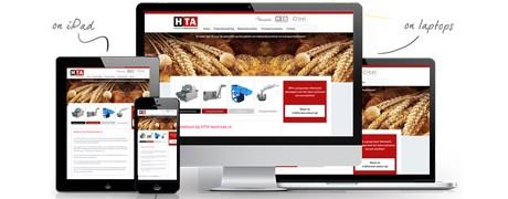 HTA Techniek website