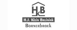 Logo bouwbedrijf Klein Bruinink