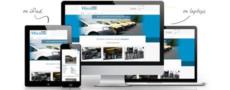 Website autobedrijf Woolderink