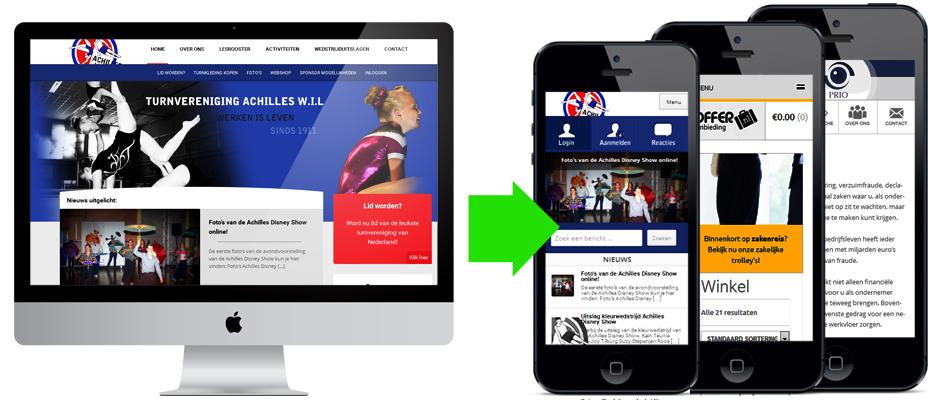 Mobiele website laten maken