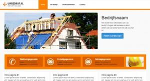 Een gratis website