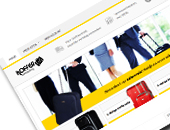 Koffer aanbieding webshop
