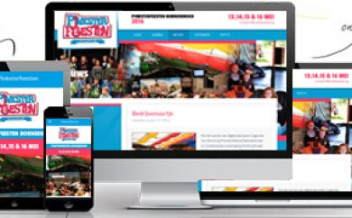 Website Pinksterfeesten Bornerbroek